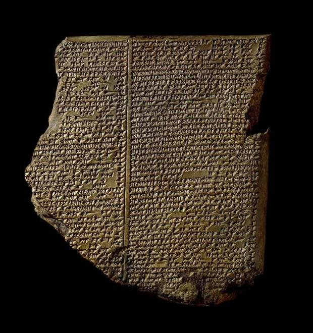 Sumerian clay tablets detailing the use of healing herbs