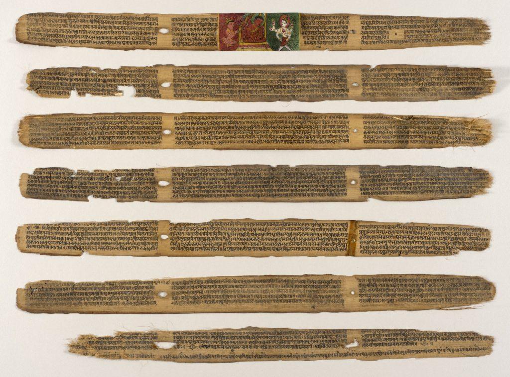 Sushruta Samhita detailing healing herbs in india