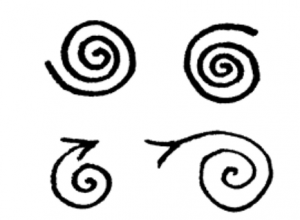 Wiccan Healing symbols #5 The Spiral
