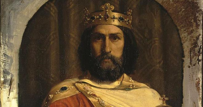 charles the great as painted by Jean Louis Ernest Meissonie
