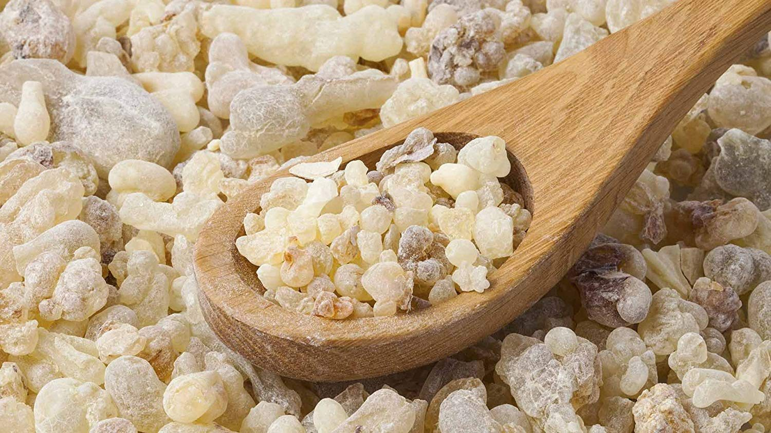 Frankincense in resin form