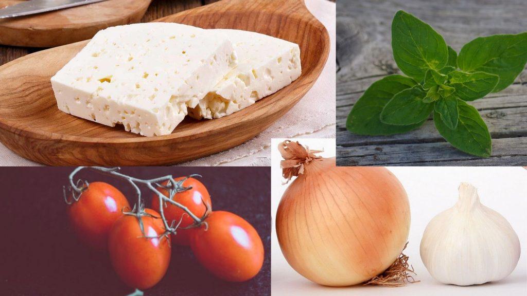 imbolc recipes baked feta ingredients