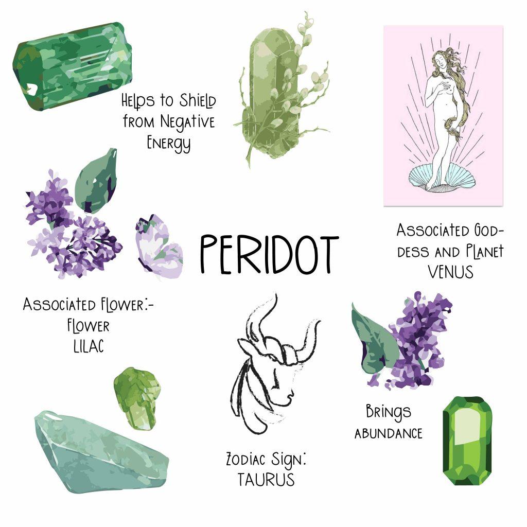 Peridot benefits
