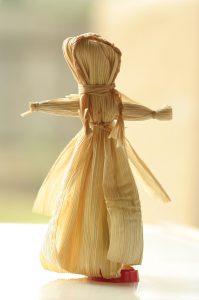 Imbolc Symbol #3 Brigid corn doll
