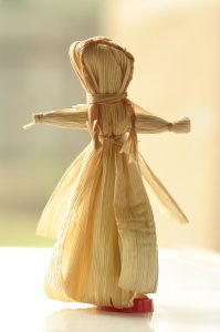 brigid corn doll for imbolc altar