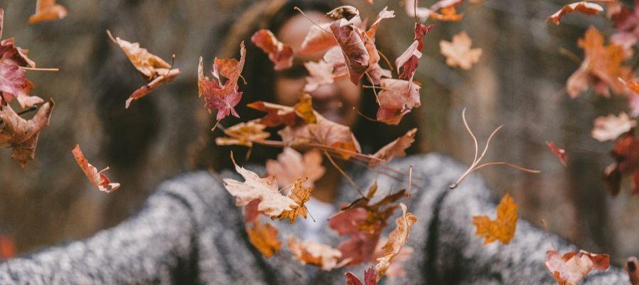 mabon autumn leaves