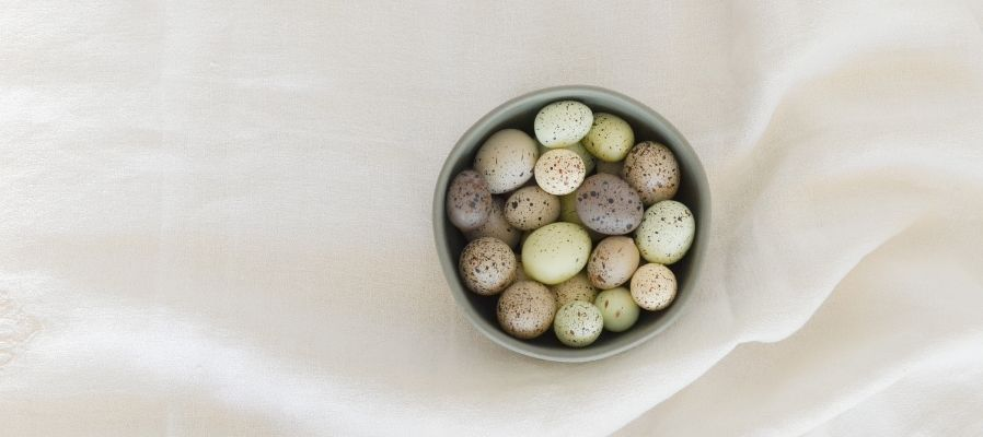 ostara image eggs in basket