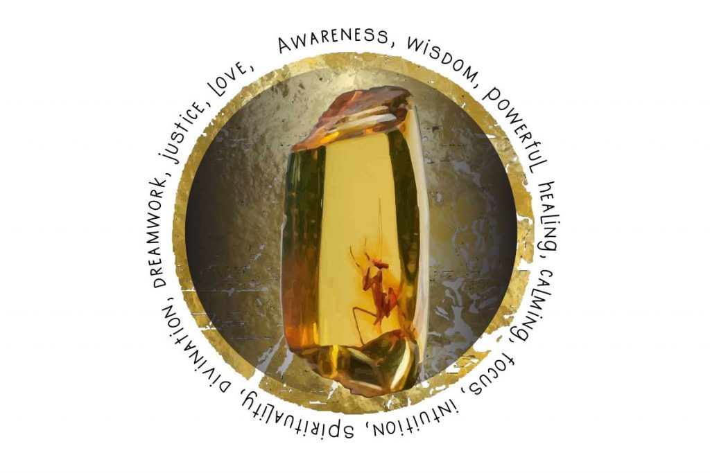 Crystal Correspondences amber graphic