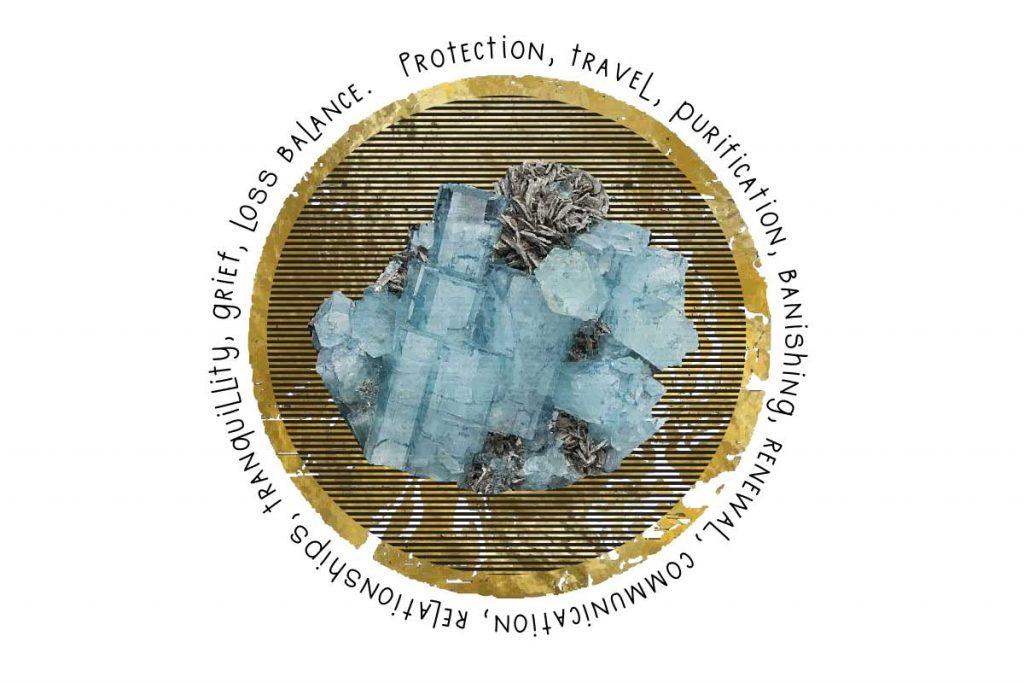 Crystal Correspondences - Aquamarine