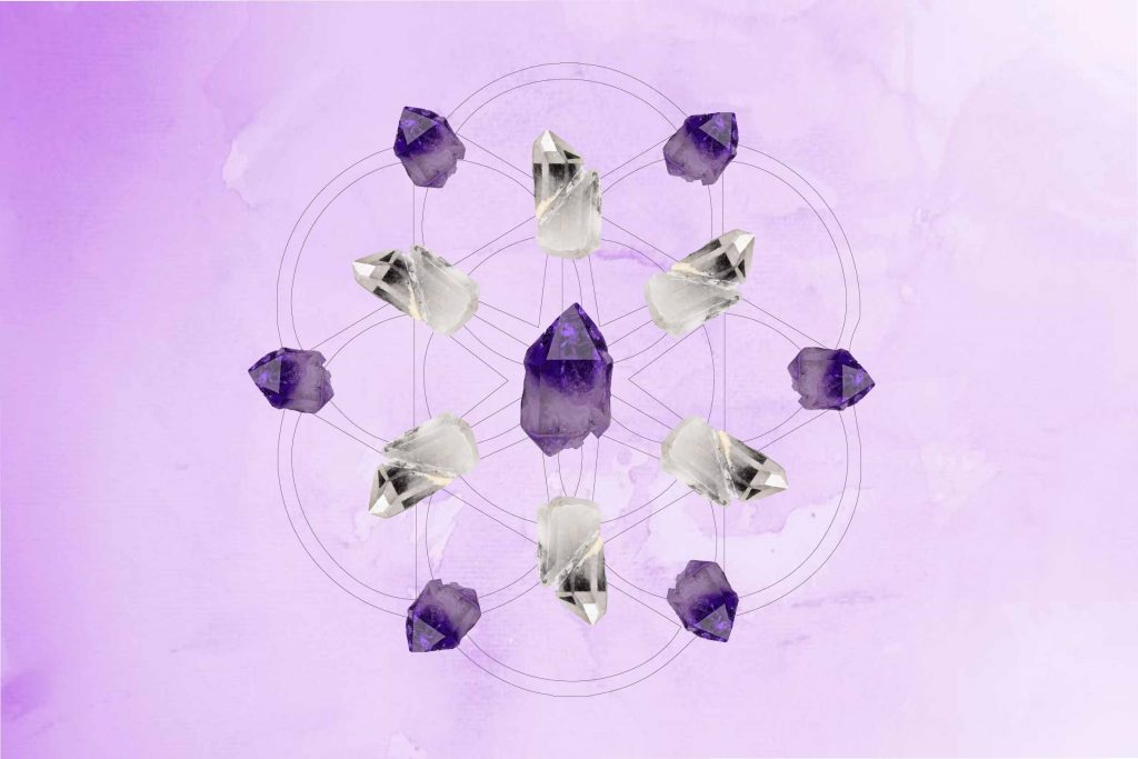 The Flower of Life - Crystal Grid - Crystal Healing