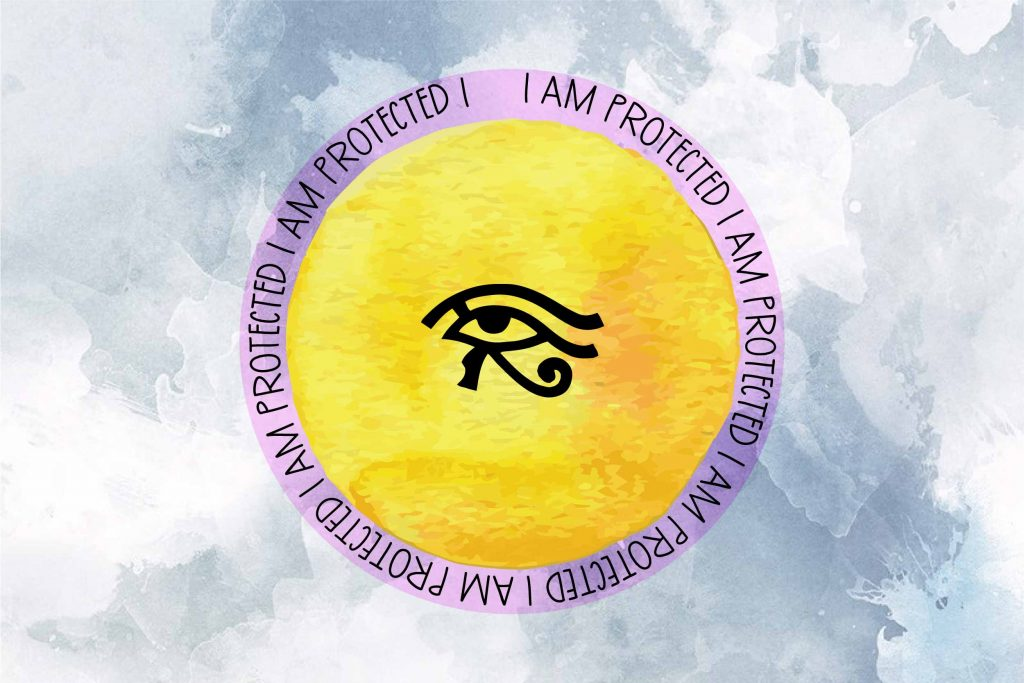The Eye of Horus - protective symbols