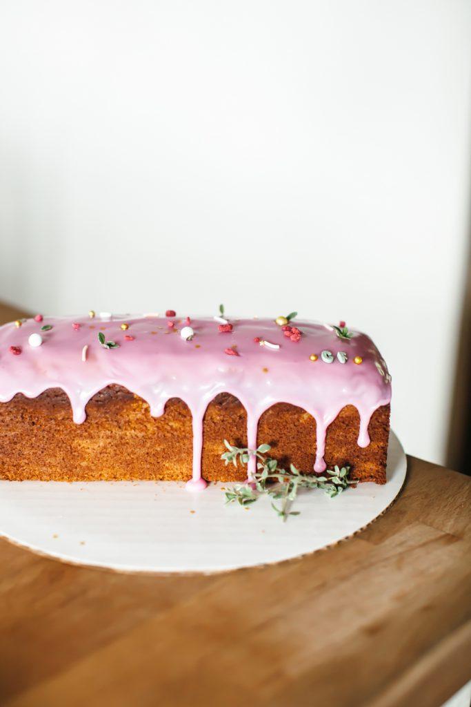 lemon and thyme loaf ostara recipe