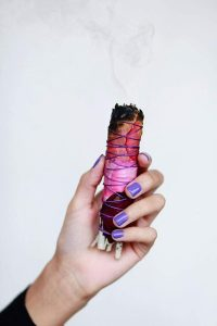 smudge sticks