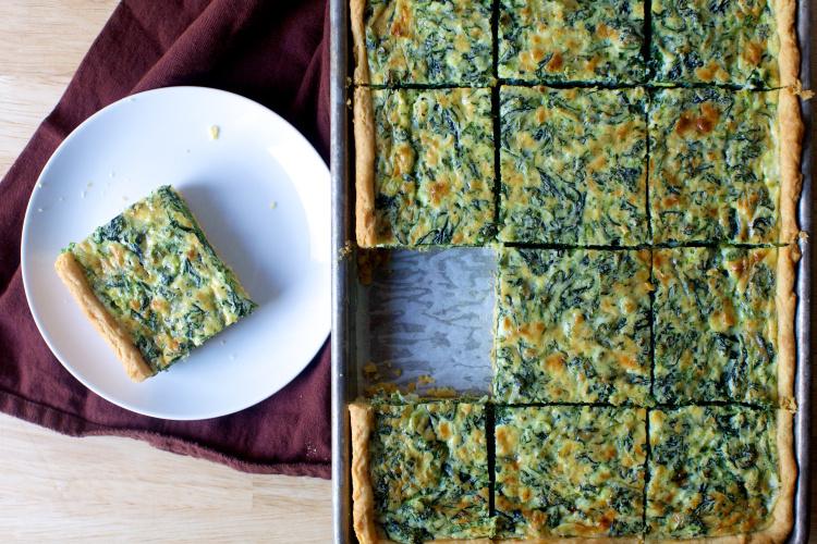 smitten kitchen spinach and feta quiche