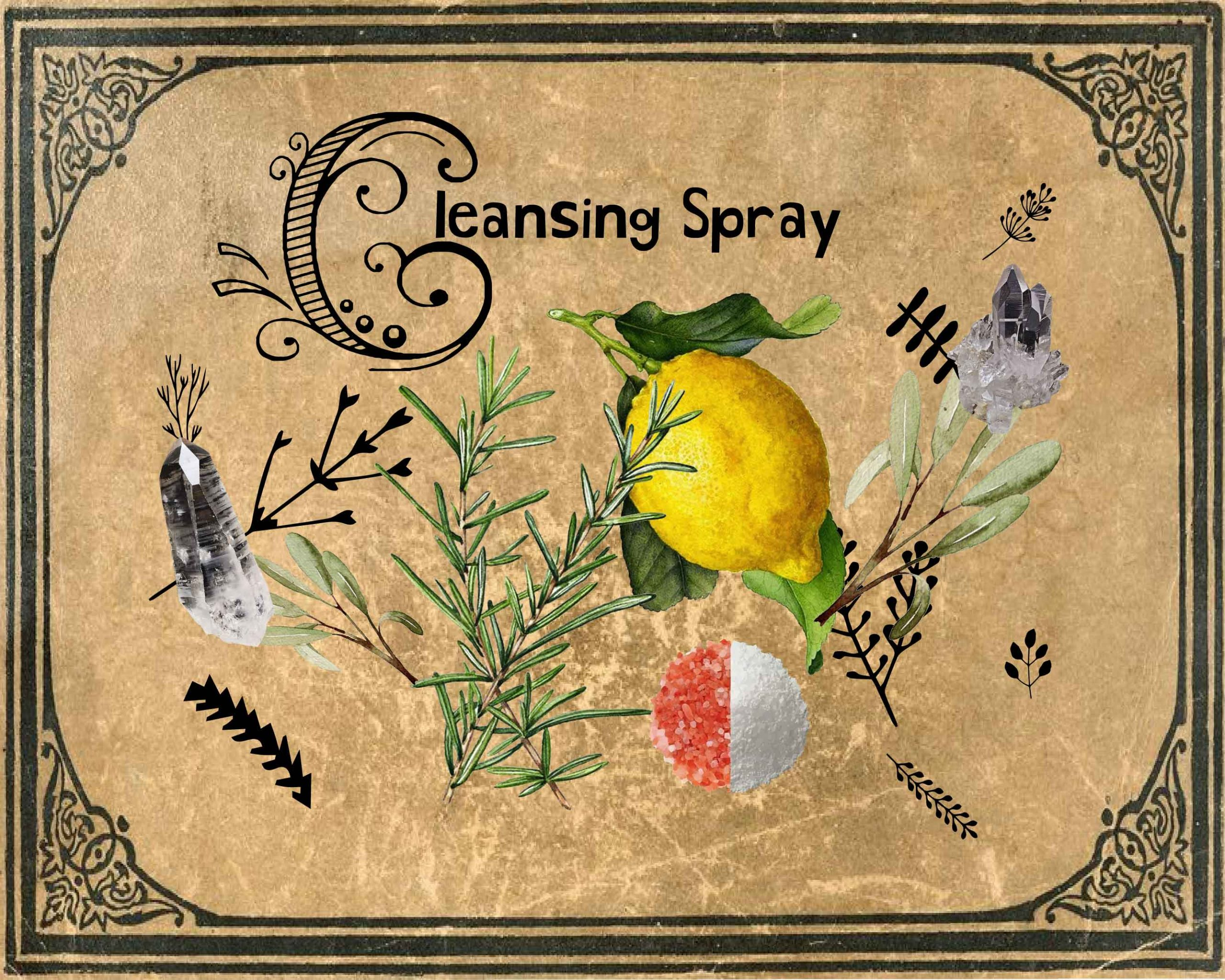 Witchy Cleansing Spray