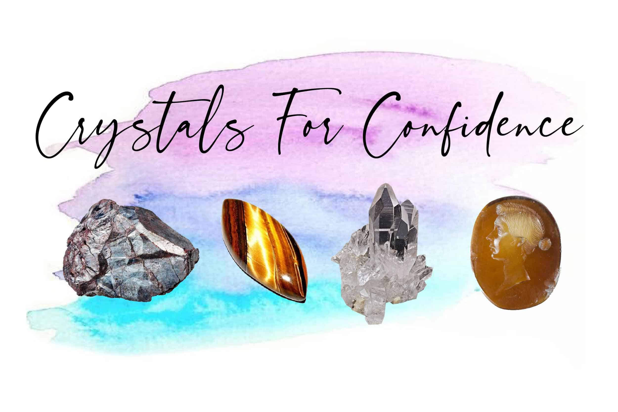 Crystals for confidence