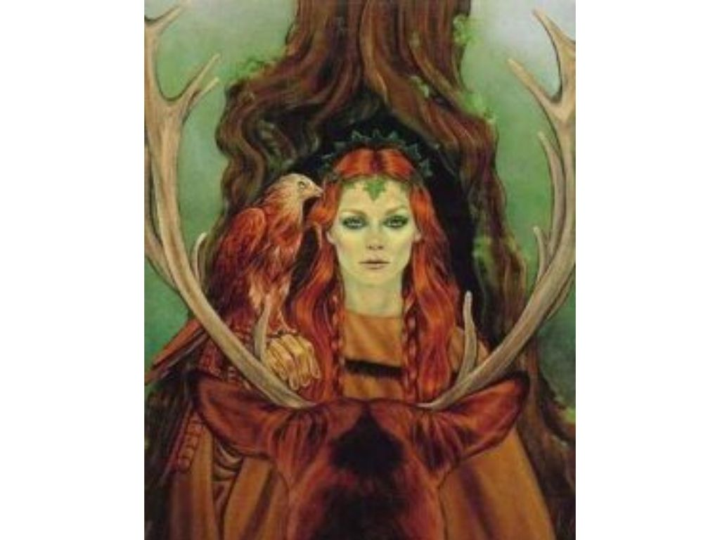 Goddess brigid for celtic myths