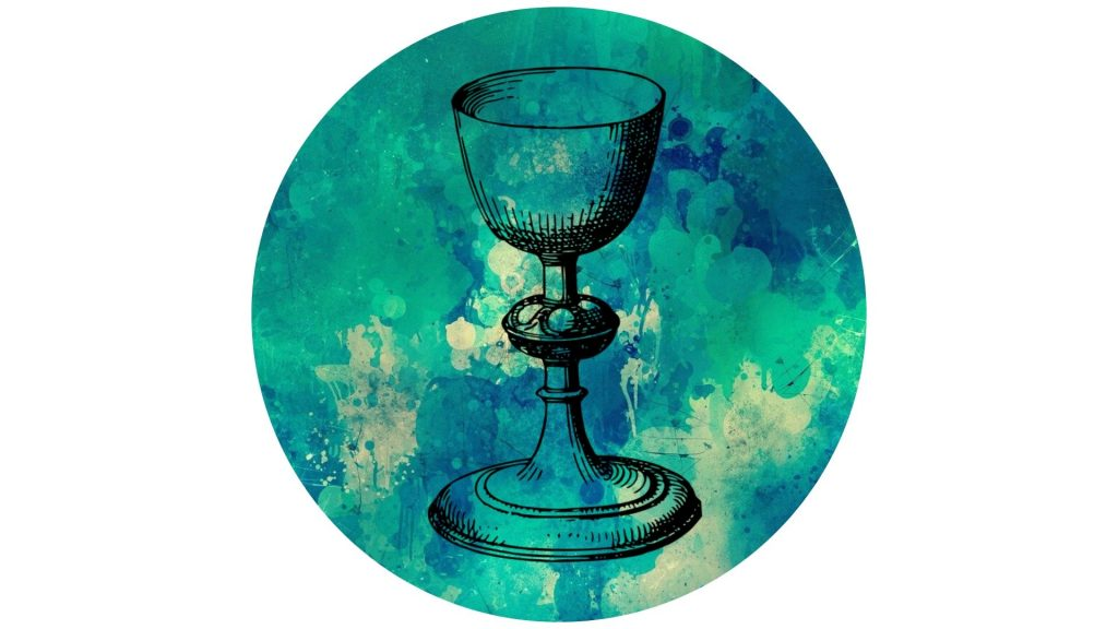 witchy altar decoration #9 chalice