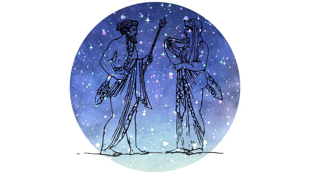witchy altar decoration #12 god and goddess figure