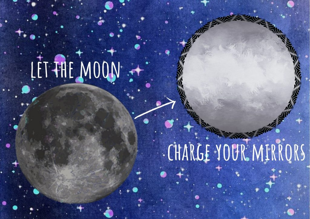 mirror magick let the moon charge your mirrors