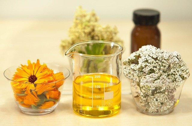 calendula and yarrow oil