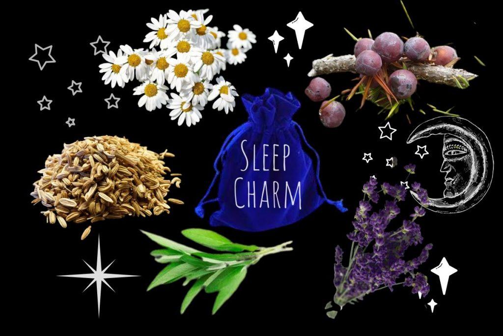 magickal properties of chamomile sleep charm