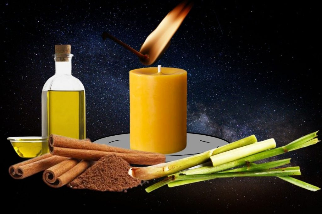 magickal properties of lemongrass blockage removing spell