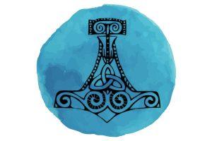 witchcraft symbol #20 Mjolnir/thors hammar