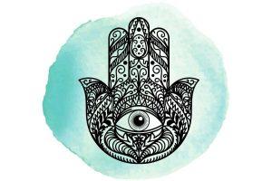 witchcraft symbol #25 hamsa hand