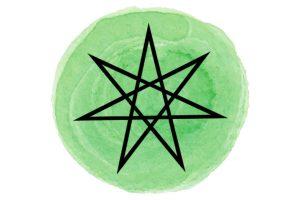 witchcraft symbol #23 septogram