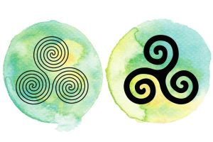 witchcraft symbol #15 triskele