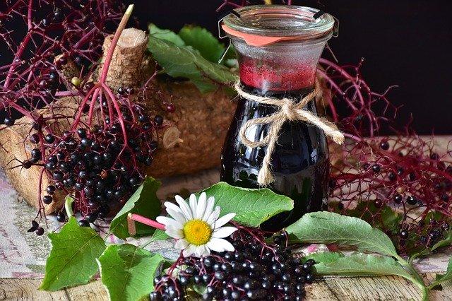 elderberry juice for the magickal properties fo elderberries