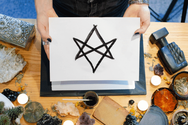 Protection symbol - Hexagram