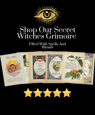 Shop our secret witches grimoire