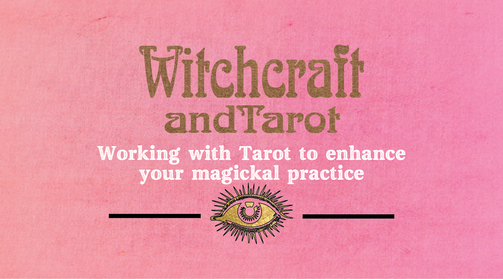 Witchcraft and tarot